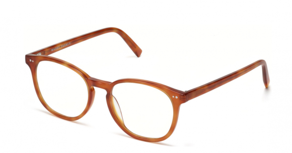 Angle View Image of Carlton Eyeglasses Collection, by Warby Parker Brand, in Sequoia Tortoise Color