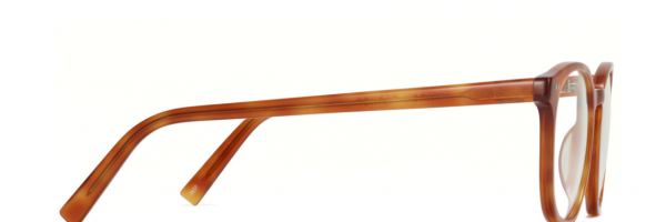 Side View Image of Carlton Eyeglasses Collection, by Warby Parker Brand, in Sequoia Tortoise Color