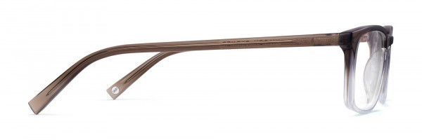 Side View Image of Chase Eyeglasses Collection, by Warby Parker Brand, in Driftwood Fade Color