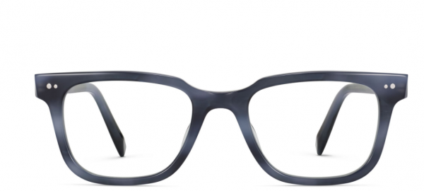 Front View Image of Conley Eyeglasses Collection, by Warby Parker Brand, in Arctic Blue Color