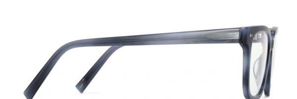 Side View Image of Conley Eyeglasses Collection, by Warby Parker Brand, in Arctic Blue Color