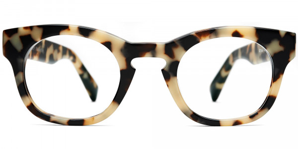 Front View Image of Kimball Eyeglasses Collection, by Warby Parker Brand, in Marzipan Tortoise Color