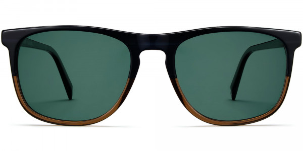 Front View Image of Madox Sunglasses Collection, by Warby Parker Brand, in Antique Shale Fade Color