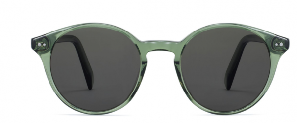 Front View Image of Morgan Sunglasses Collection, by Warby Parker Brand, in Rosemary Crystal Color