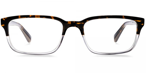 Front View Image of Seymour Eyeglasses Collection, by Warby Parker Brand, in Tennessee Whiskey Color