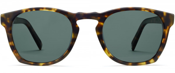 Front View Image of Topper Sunglasses Collection, by Warby Parker Brand, in Hazelnut Tortoise Matte Color