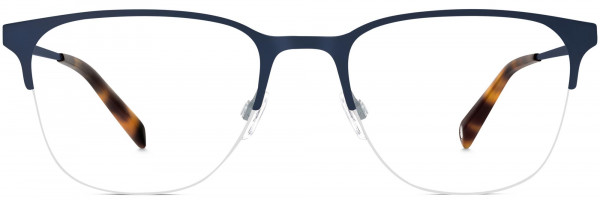 Front View Image of Wallis Eyeglasses Collection, by Warby Parker Brand, in Brushed Navy Color
