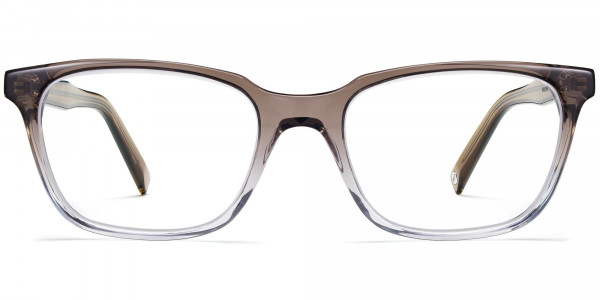 Front View Image of Wilder Eyeglasses Collection, by Warby Parker Brand, in Driftwood Fade Color