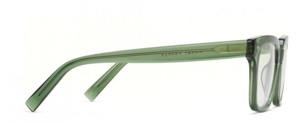 Side View Image of Winston Eyeglasses Collection, by Warby Parker Brand, in Rosemary Crystal Color