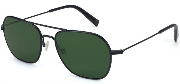 Angle View Image of Abe Sunglasses Collection, by Warby Parker Brand, in Brushed Ink Color