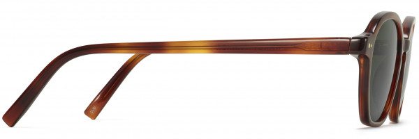 Side View Image of Britten Sunglasses Collection, by Warby Parker Brand, in Amber Tortoise Color