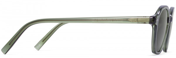 Side View Image of Britten Sunglasses Collection, by Warby Parker Brand, in Rosemary Crystal Color