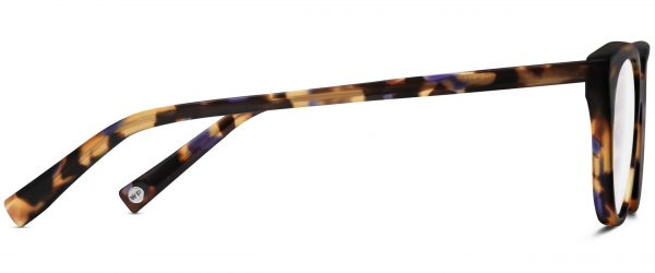 Side View Image of Chelsea Eyeglasses Collection, by Warby Parker Brand, in Violet Magnolia Color