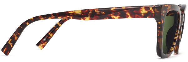 Side View Image of Beale Sunglasses Collection, by Warby Parker Brand, in Saffron Tortoise Fade Color