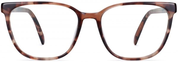 Front View Image of Esme Eyeglasses Collection, by Warby Parker Brand, in Sesame Tortoise Color