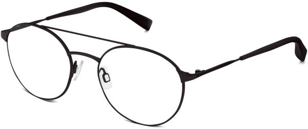 Angle View Image of Fisher Eyeglasses Collection, by Warby Parker Brand, in Brushed Ink Color