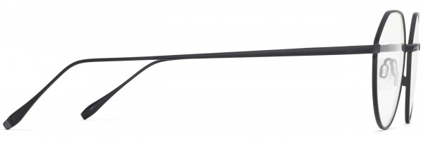 Side View Image of Gavin Eyeglasses Collection, by Warby Parker Brand, in Brushed Ink Color
