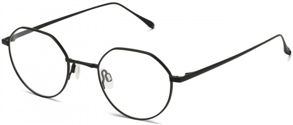 Angle View Image of Gavin Eyeglasses Collection, by Warby Parker Brand, in Brushed Ink Color