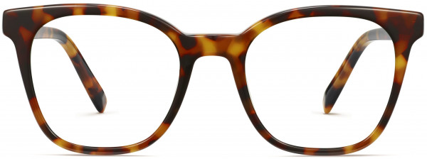 Front View Image of Griffin Eyeglasses Collection, by Warby Parker Brand, in Acorn Tortoise Color
