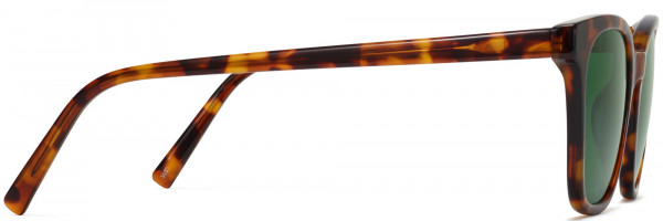 Side View Image of Griffin Sunglasses Collection, by Warby Parker Brand, in Acorn Tortoise Color