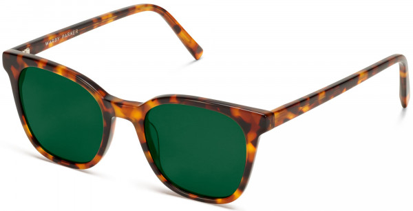 Angle View Image of Griffin Sunglasses Collection, by Warby Parker Brand, in Acorn Tortoise Color