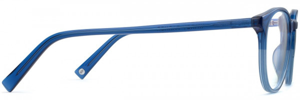 Side View Image of Butler Eyeglasses Collection, by Warby Parker Brand, in Shoreline Fade Color