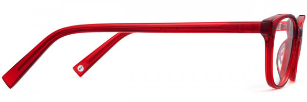 Side View Image of Daisy Eyeglasses Collection, by Warby Parker Brand, in Cardinal Crystal Color