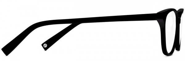 Side View Image of Daisy Eyeglasses Collection, by Warby Parker Brand, in Jet Black Color