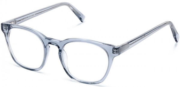 Angle View Image of Felix Eyeglasses Collection, by Warby Parker Brand, in Pacific Crystal Color