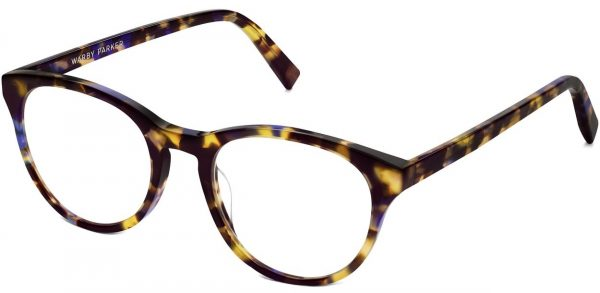 Angle View Image of Jane Eyeglasses Collection, by Warby Parker Brand, in Violet Magnolia Color