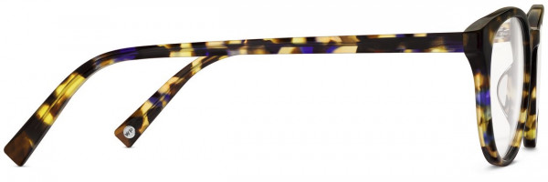 Side View Image of Jane Eyeglasses Collection, by Warby Parker Brand, in Violet Magnolia Color