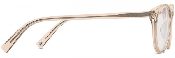 Side View Image of Jane Eyeglasses Collection, by Warby Parker Brand, in Elderflower Crystal Color
