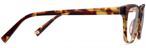 Side View Image of Amelia Eyeglasses Collection, by Warby Parker Brand, in Root Beer Color