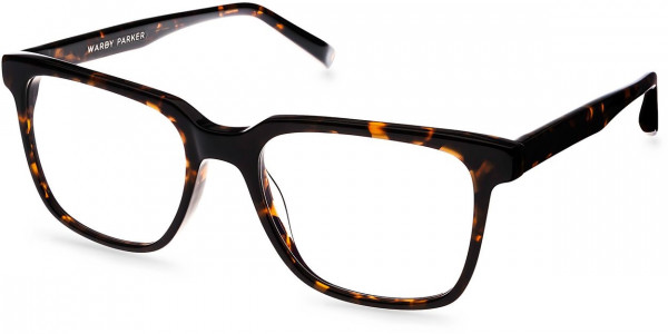 Angle View Image of Chamberlain Eyeglasses Collection, by Warby Parker Brand, in Whiskey Tortoise Color