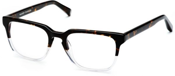Angle View Image of Burke Eyeglasses Collection, by Warby Parker Brand, in Tennessee Whiskey Color