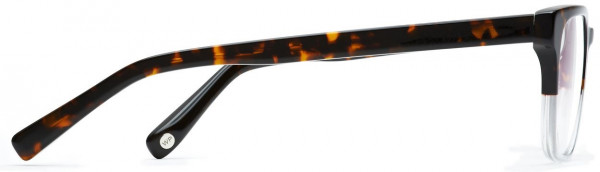 Side View Image of Burke Eyeglasses Collection, by Warby Parker Brand, in Tennessee Whiskey Color