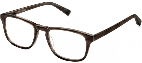 Angle View Image of Bensen Eyeglasses Collection, by Warby Parker Brand, in Greystone Color