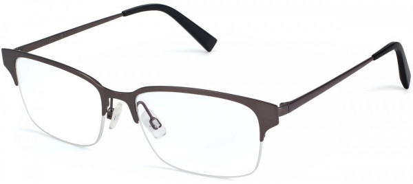 Angle View Image of James Eyeglasses Collection, by Warby Parker Brand, in Carbon Color