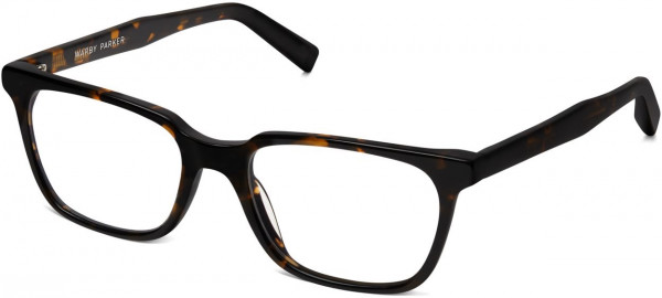 Angle View Image of Wilder Eyeglasses Collection, by Warby Parker Brand, in Whiskey Tortoise Color