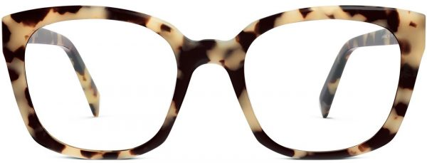 Front View Image of Aubrey Eyeglasses Collection, by Warby Parker Brand, in Marzipan Tortoise Color