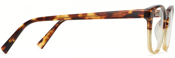 Side View Image of Felix Eyeglasses Collection, by Warby Parker Brand, in Chamomile Fade Color