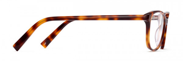 Side View Image of Daisy Eyeglasses Collection, by Warby Parker Brand, in Oak Barrel Color