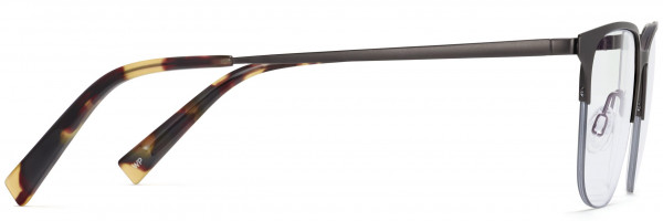 Angle View Image of Wallis Eyeglasses Collection, by Warby Parker Brand, in Carbon Color